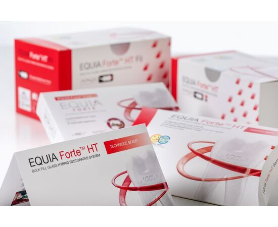 GC EQUIA FORTE HT CLINIC PACK 200 CAPSULE